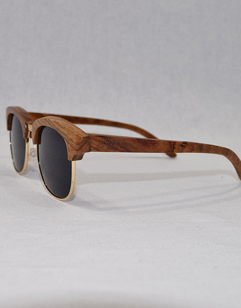 Gold & Wood : WYR Polarized Sunglasses