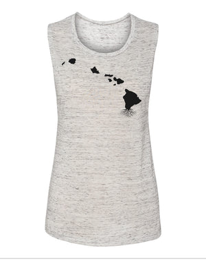 Hawaii Women's Flowy Muscle Tank