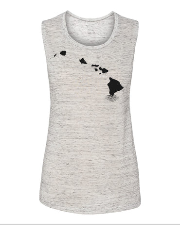 Hawaii Women's Muscle Tank