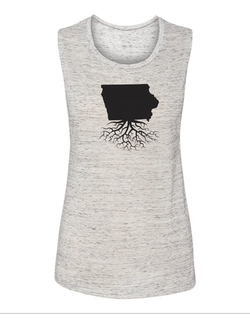 Iowa Women's Flowy Muscle Tank