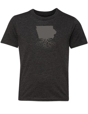 Iowa Youth TriBlend Tee
