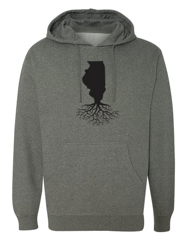Illinois Mid-Weight Pullover Hoodie