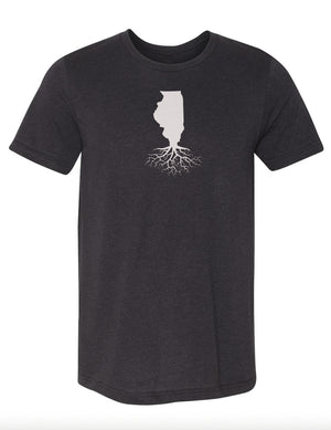 Illinois Men's Tri-Blend Crew