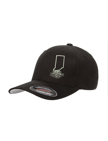 Indiana Roots Structured Flexfit Hat