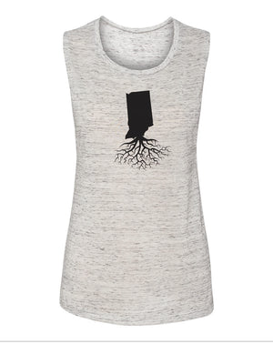 Indiana Women's Flowy Muscle Tank