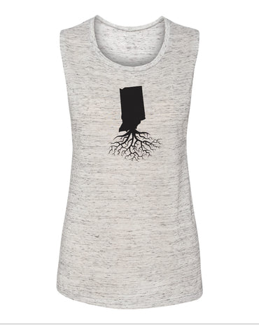 Indiana Women's Muscle Tank