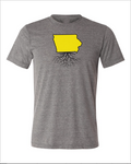 Exclusive Iowa Men's Tri-Blend Color Combos