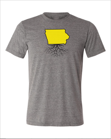 Iowa Men's Color Combo Crewneck Tee