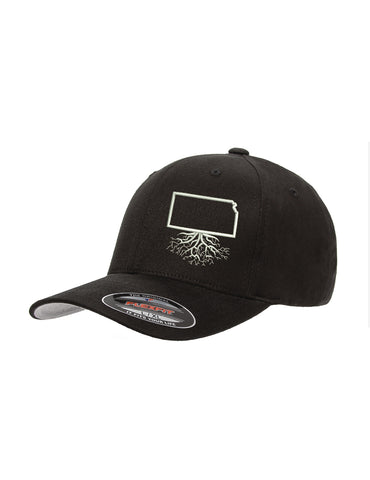 Kansas Flexfit Mesh Trucker