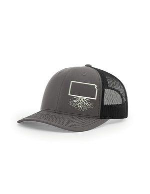 Kansas Snapback Trucker Hat
