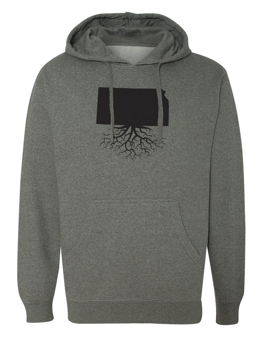 Kansas Mid-Weight Pullover Hoodie