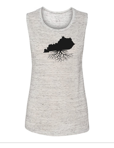 Kentucky Women's Flowy Muscle Tank