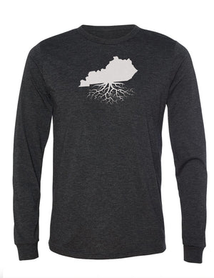 Kentucky Unisex Long Sleeve Tri-Blend Crew Tee