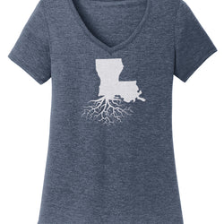 Louisiana Women's V-Neck Tee