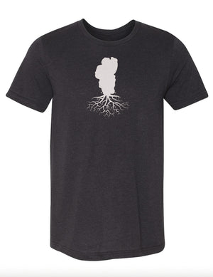 Lake Tahoe Men's Tri-Blend Crew