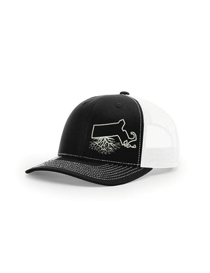 Massachusetts Snapback Trucker Hats