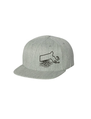 Massachusetts Roots FlexFit Snapback
