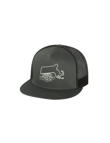 Massachusetts Yupoong | Flatbill Trucker