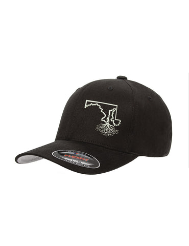 Maryland Roots Structured Flexfit Hat