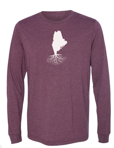 Maine Long Sleeve Crewneck Tee