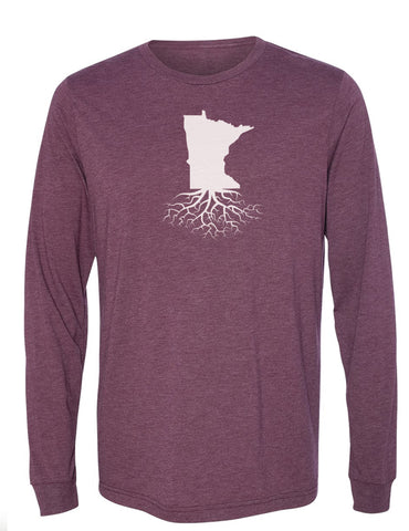Minnesota Long Sleeve Crewneck Tee