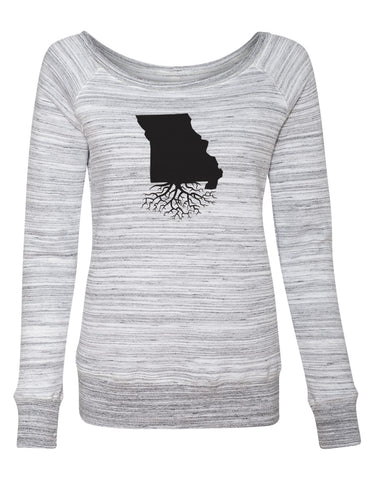 Missouri Women's Off The Shoulder Sweatshirt