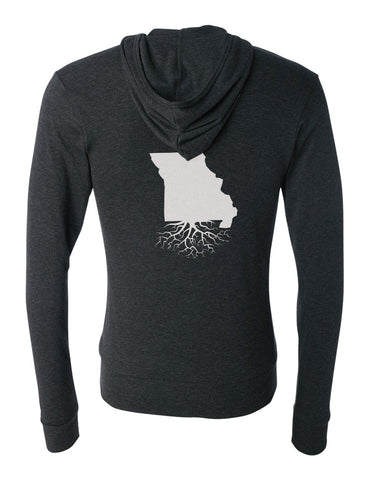 Missouri Light-Weight Zip Hoodie