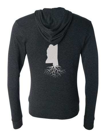 Mississippi Light-Weight Zip Hoodie