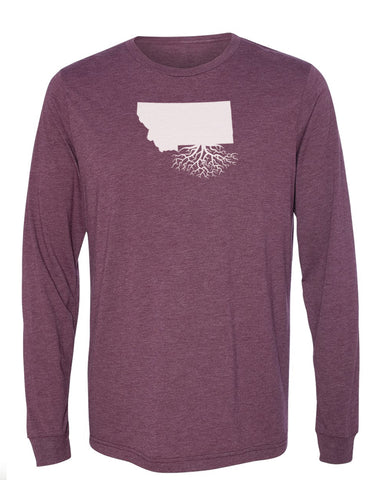 Montana Long Sleeve Crewneck Tee