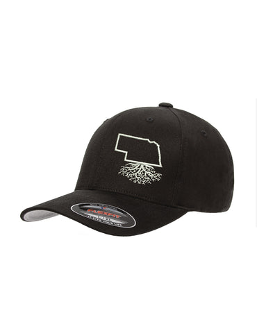 Nebraska Roots Structured Flexfit Hat