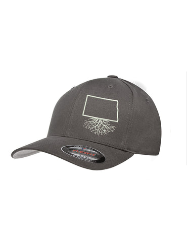 North Dakota Roots Structured Flexfit Hat