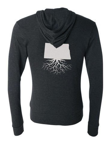 North Dakota Light-Weight Zip Hoodie