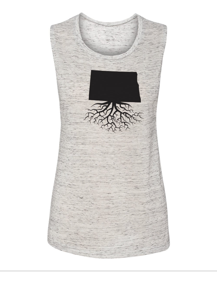North Dakota Women's Muscle Tank