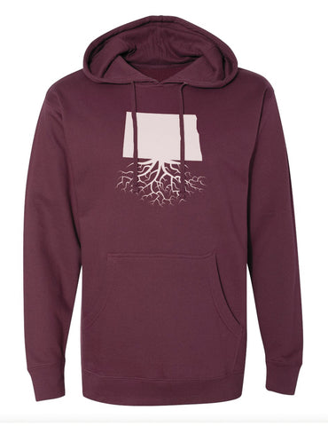 North Dakota Mid-Weight Pullover Hoodie