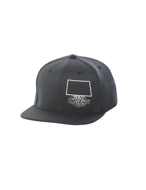 North Dakota Roots FlexFit Snapback