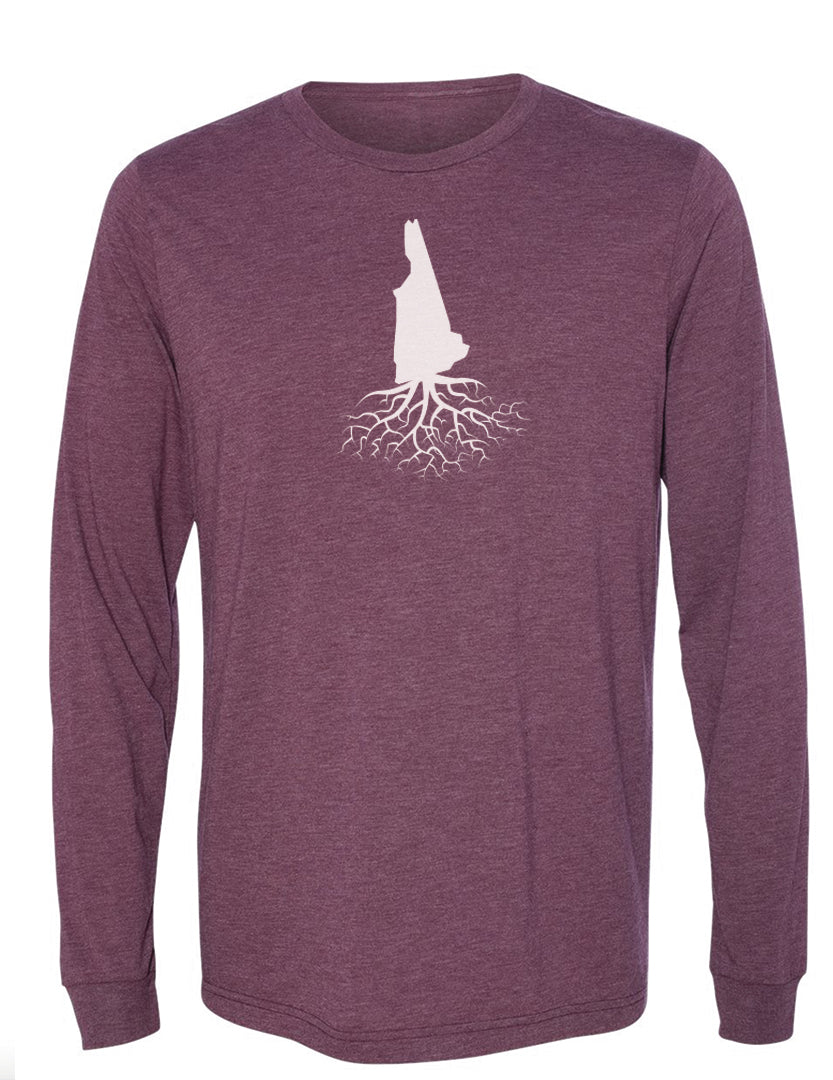 New Hampshire Long Sleeve Crewneck Tee