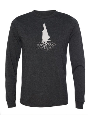 New Hampshire Unisex Long Sleeve Tri-Blend Crew Tee