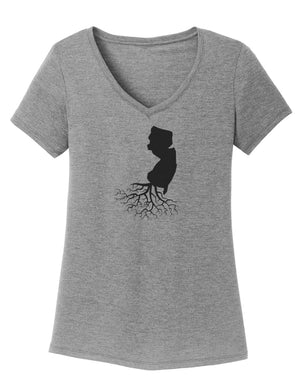 New Jersey Women's Traditional Fit Tri-Blend V-Neck