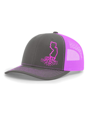 New Jersey Snapback Trucker Hats