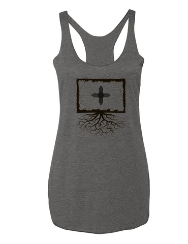 New Mexico Flag Women's Racerback Tank