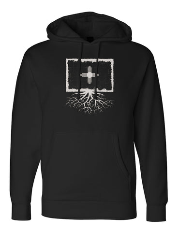 New Mexico Flag Unisex Heavy-Weight Pullover Hoodie