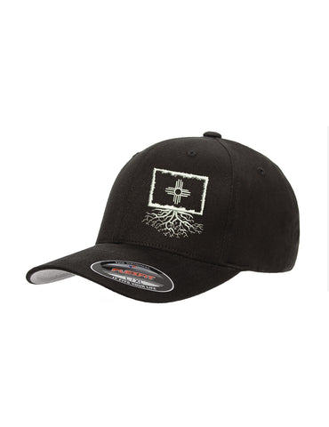 New Mexico Flag Roots Structured Flexfit Hat