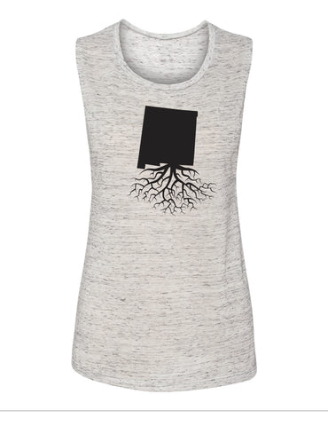 New Mexico Women's Flowy Muscle Tank