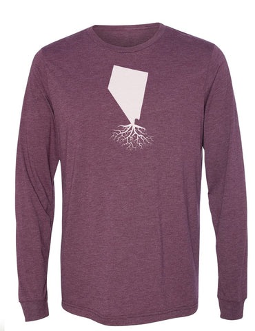 Nevada Long Sleeve Crewneck Tee