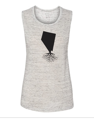Nevada Women's Muscle Tank