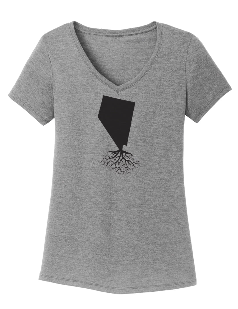 Nevada Women's V-Neck Tee