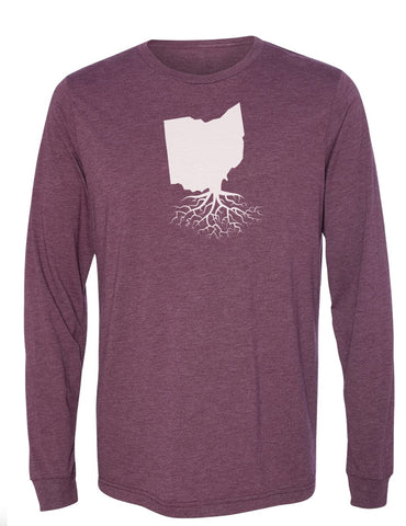 Ohio Long Sleeve Crewneck Tee