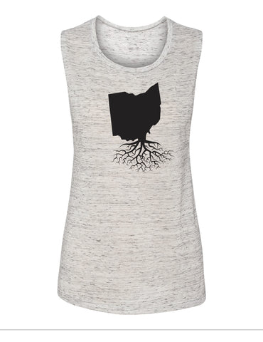 Ohio Women's Muscle Tank