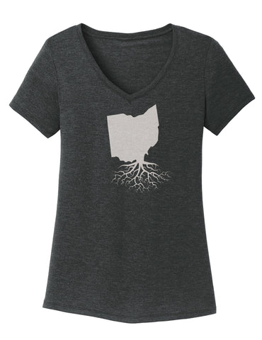 Ohio Women's V-Neck Tee