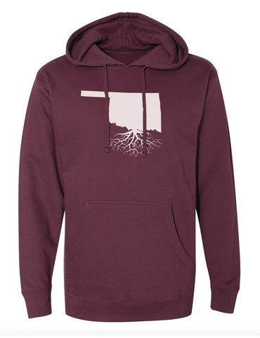 Oklahoma Mid-Weight Pullover Hoodie